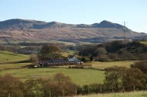 Dalnair Farm and Crow Hill