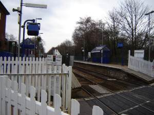 Farnborough North Station
