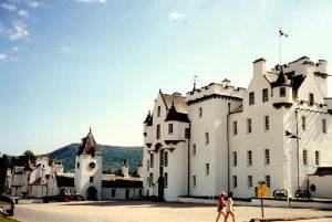 Blair Castle near Pitlochry