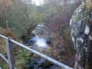 Craggie Burn from B851 Bridge