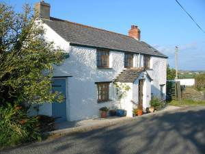 Cottage at Sweets nr Crackington Cornwall