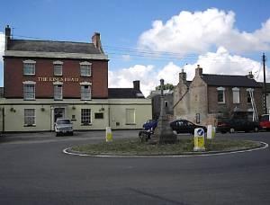 Roundabout at Alkerton, Eastington