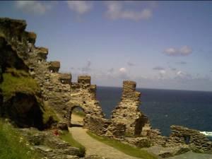 Tintagel Castle Summer 2004