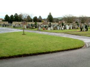 Lower Strathkinnes Road Cemetery