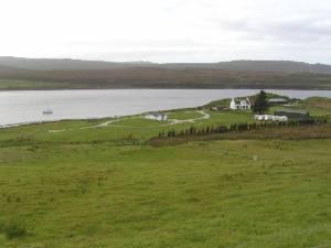 Campsite near Edinbane, Skye