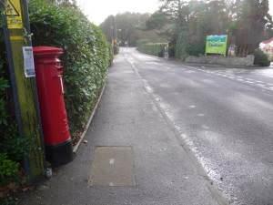 Holton Heath: postbox № BH16 269, Organford Road