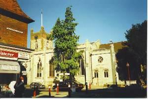Chertsey Parish Church.