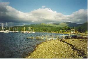 Loch Creran, at Barcaldine.