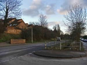 Brickendon Lane, Hertford, looking south