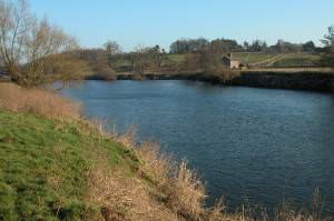 The River Wye upstream from Hoarwithy