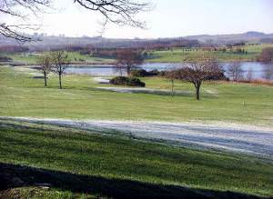 Lochmaben golf course and Kirk Loch