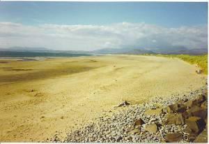 Harlech Beach.