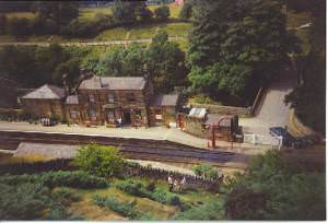 Goathland Station.