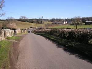 Towards Road Junction, Drybrook