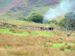 View over the Snowdon Railway