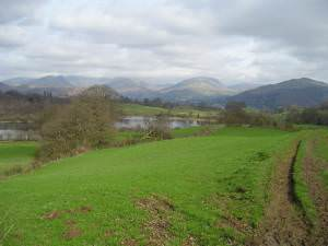 Looking towards Ambleside from near Blelham Tarn