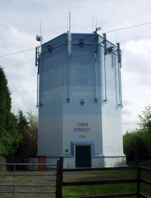 Water Tower, Romsley Hill