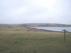 Colliford Lake NW end on Bodmin Moor