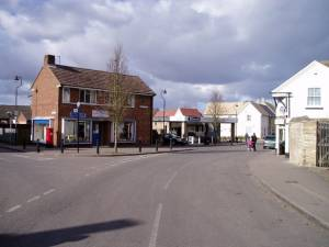 Local shops in Burwell