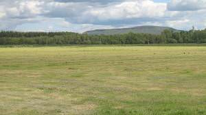 Harvested grassland, Gartmore