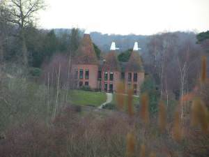 Converted Oast house, Poundsbridge Farm
