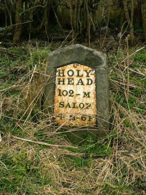 102 miles to Holyhead