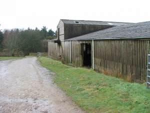 Cattleshed at Gortinanane.