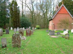 Chapel and Cemetery near Wineham