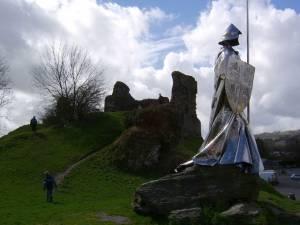 Monument to Llewelyn ap Gruffydd Fychan