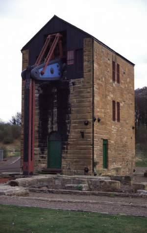 Prestongrange Cornish Beam Engine