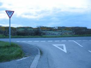 The A5025 near Cemaes