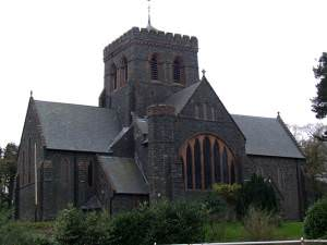 The Church of St Padarn in Llanberis