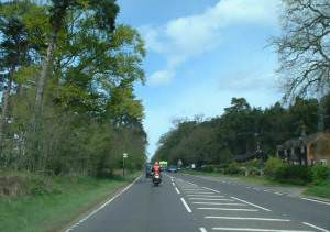 A149 heading north towards Hunstanton.