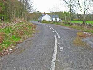 Old road at Glenluce