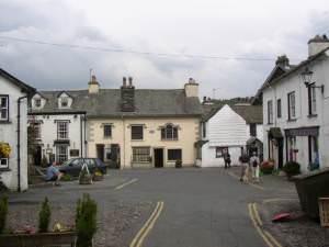 Square off Main Street, Hawkshead