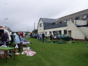 Car boot sale, Rosudgeon social club