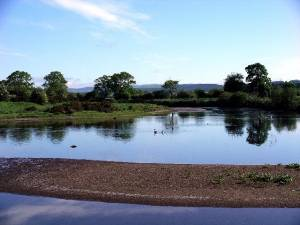 River Annan near Lochmaben
