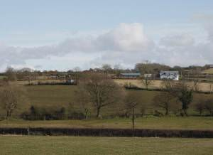 Fields near Rhydlas