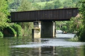 River Avon, Newbridge Railway Bridge