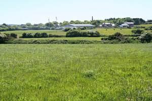 Across the fields to Goonearl Farm