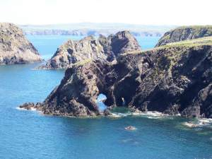 Islands and arches