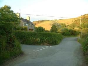 House near Llaniestyn