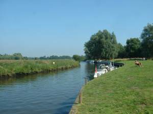 The staithe at Loddon