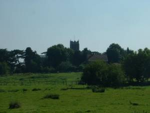 View towards Loddon Church