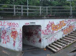 Subway under A54, Winsford