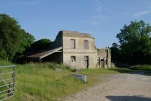 Derelict building, Weston