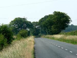The Road from Skipwith to Cliffe