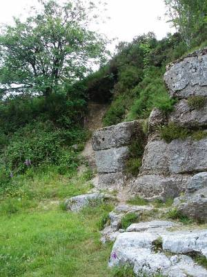 Small quarry at Two Bridges