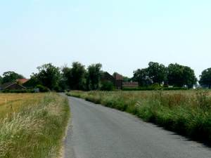 Moor Lane from Osgodby to South Duffield