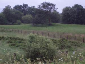 Moat from A81